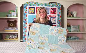 how to make a quick simple receiving blanket diy tutorial fat quarter you