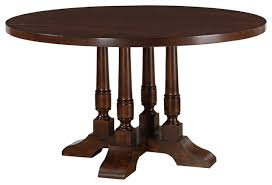 acme tanner round dining table cherry