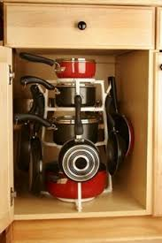 kitchen storage cabinets for pots and pans. organize pots on this handy item, the pantree. small kitchen storage tips - journal designer cabinets for and pans h