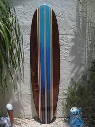 decorative surfboard wall art