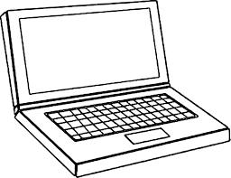 Coloriage Ordinateur Portable Imprimer Sur Coloriages Info