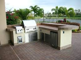 outdoor kitchen storage large size of brick outdoor kitchen grill island kits built in storage cabinet