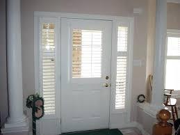 front door with window front door blinds and front doors creative ideas front door window coverings