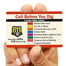 Apwa Uniform Color Code Chart Color Codes For Buried Lines Apwa Smartsign Blog
