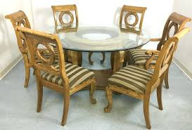 modern round dining table for 6 lot modern round glass top dining table 6 chairs modern