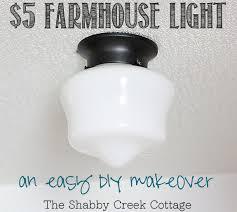cottage style lighting fixtures. Farmhouse Light, Schoolhouse Light Fixture, DIY, Home Decor, Budget Friendly Cottage Style Lighting Fixtures