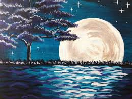 i am going to paint midnight moon glow at pinot s palette ridgewood to discover my