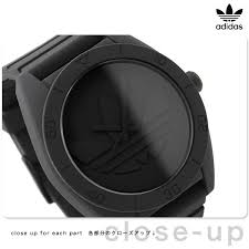 nanaple rakuten global market adidas watches men x27 s adidas watches men s santiago black adidas adh2710