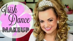 irish dance makeup tutorial faces by cait b you dramaticirishdancemakeup dramaticirishdancemakeuptutorial irishdancemakeup