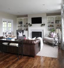 great leather sofa decor livingroom brown decorating idea interior design colour combination light living room sectional
