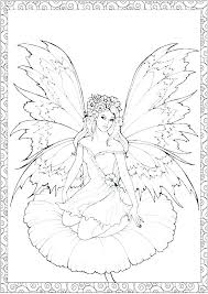Coloring Page Fairy Free Adult Coloring Pages Fairies Coloring Page