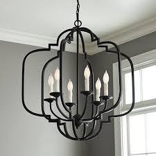 katherine 6 light geometric chandelier view full size