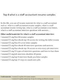 Staff Accountant Resume Sample top60whatisastaffaccountantresumesamples605052600956022lva60app660960thumbnail60jpgcb=60603260069060 33