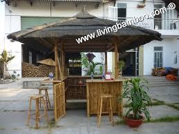 bamboo tiki bar can gio square tiki bar set