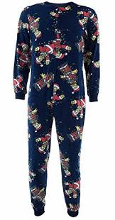 Briefly Stated Onesie Size Chart Briefly Stated Mens Simpsons Christmas Lights Onesie Multi