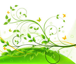 Free Floral Backgrounds Graphic Design Backgrounds Green Floral Background Free Vector