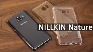 <b>NILLKIN Nature для</b> Samsung Galaxy Note 5 (N920) обзор <b>чехла</b> ...