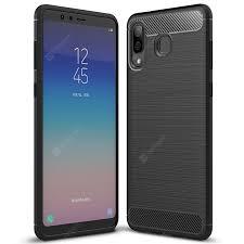 <b>ASLING Carbon Fiber</b> Series <b>TPU</b> Soft Phone Case for Samsung ...