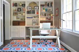 carpet for home office. View In Gallery Colorful Rug A Tidy Home Office Carpet For H