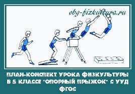 План конспект урока физкультуры в классе Опорный прыжок с УУД ФГОС План конспект урока физкультуры в 5 классе Опорный прыжок с УУД ФГОС