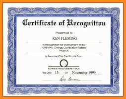 Certificate Of Appreciation Text Wording For Certificates Of Recognition Magdalene Project Org