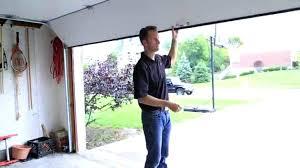 how to manually open a garage door open garage door sears sensor warning lights indicator alarm