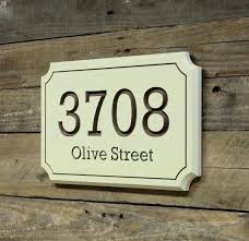house address number sign plaque porch lights plaques numbers signs diy