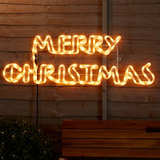 Merry Christmas Light Up Sign For Roof Outdoor Christmas Lights To Give Exteriors Festive Sparkle