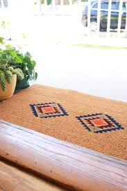 How To Make A Fun Doormat With Cricut - Jest Cafe