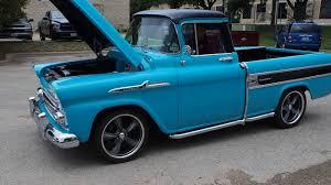 1958 Chevrolet Cameo Pickup Start & Run (External) - YouTube