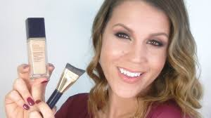 estee lauder perfectionist youth infusing makeup review demo you