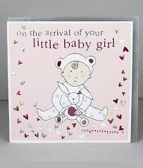 Little Baby Girl Cards
