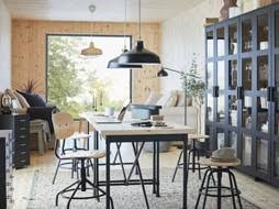 ikea office space. Brilliant Office IKEA KULLABERG Pine Work Desk Has A Thick Worktop Surface With An  Industrial Feel For Any For Ikea Office Space F