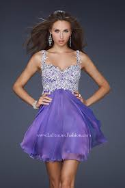 Details About Lafemme Purple Short Homecoming Gown Formal Prom Pageant Dress 4 17446 Nwt 370