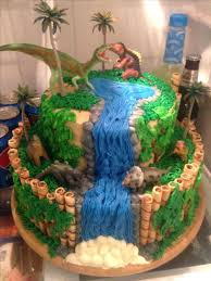 Dinosaur Train Cake Ideas Tekhno
