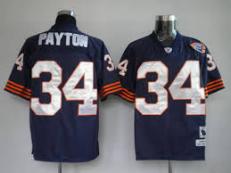 Mitchell Ness Walter And Jersey Payton Throwback