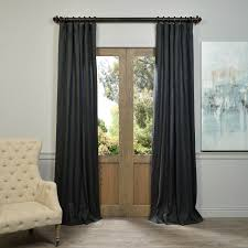 charcoal french linen curtain  half price drapes