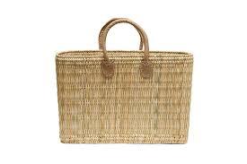 moroccan straw tote bag