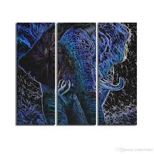 2018 hd printed abstract elephant painting canvas art prints for living room canvas prints non frame sjmt1867 from creativearts 18 08 dhgate com