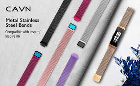 422c Pt Chart Cavn Metal Bands Compatible For Fitbit Inspire Inspire Hr Bands For Women Men Small Large Replacement Stainless Steel Wrist Strap Accessory