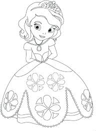 Disney Princess Color Pages Printable Princess Coloring Pages To