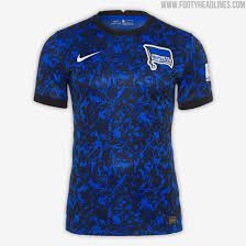 Hertha bsc is a professional football club in germany. Hertha Berlin 20 21 Home Away Kits Released No Main Sponsor Officially Since Yesterday Footy Headlines