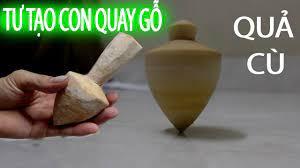 tự làm con quay bằng gỗ | DIY wooden gyros will - YouTube