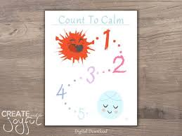 Nursery Art Behavior Chart Calm Down Angry Mad Peaceful With Title Printable Digital Download 5x5 8x10 11x14 16x20 Visual Feelings Counting