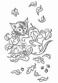 Small Picture Fall Leaves Coloring Pages Crafts And More Pattern Of Autumn Leaf