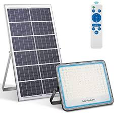 200W <b>Solar</b> Flood <b>Light 360LED</b> White 6500K <b>Solar Lamps</b> for ...