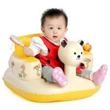 baby inflatable bathroom bath stools panda children learn sofa chair seat small inflatable portable kid chair suit 3 24m baby inflatable bathroom bath