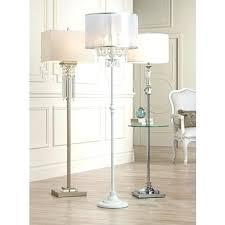 chandelier floor lamp home lighting. Draped Antique White Crystal Chandelier Floor Lamp Home Lighting Full Size