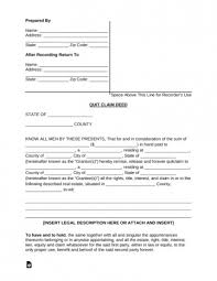 Quick Deed Form Simple Quick Deed Form Enchanting Free Printable Quick Claim Form Templates