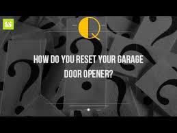 reset garage door openerHow Do You Reset Your Garage Door Opener  YouTube